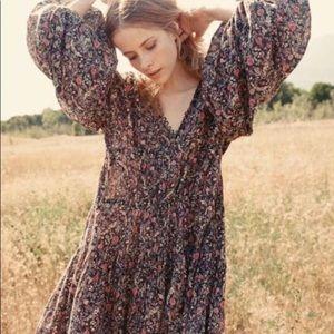 Doen grasse dress  black